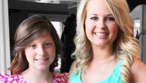 Big Sister Amber and Little Sister Bailie