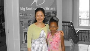 Big Sister Angie and Little Sister Taniah