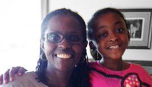 Big Sister Julia and Little Sister Breyonne'