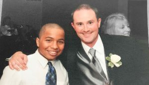 Big Brother Jamie and Little Brother Elijah
