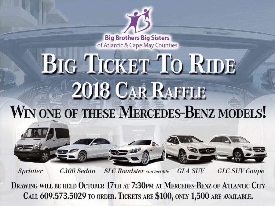 Big Ticket 2 Ride Car Raffle