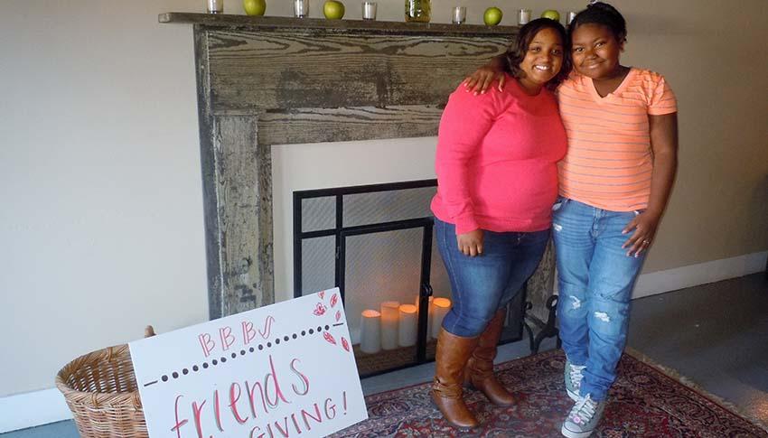 Big Sister Latara and Little Sister Keyshanna